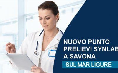 Nuovo punto prelievi Synlab a Savona